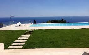 piscina villa vista mare